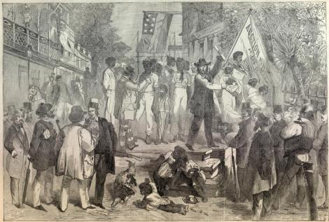Slave Auction, 1859