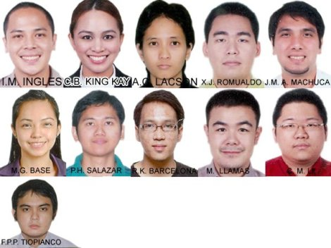 2012 Top 10 Bar Exam Passers